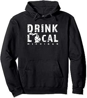 drink local beer hoodie