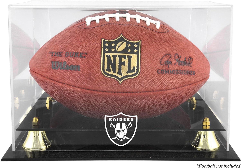 Las Vegas Raiders Golden Classic Logo Bargain sale Case Display Team Football Special Campaign