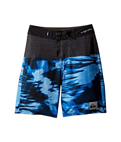 Quiksilver Kids Highline Blackout 17 Boardshorts (Big Kids) (Electric Royal) Boy