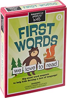 Magnetic Poetry First Words Kit for Kids