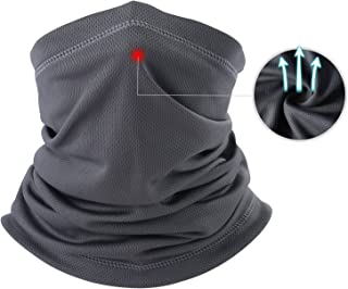THINDUST Summer Face Mask -Dust Sun UV Protection Neck Gaiter Outdoor Hiking & Motorcycling & Cycling …