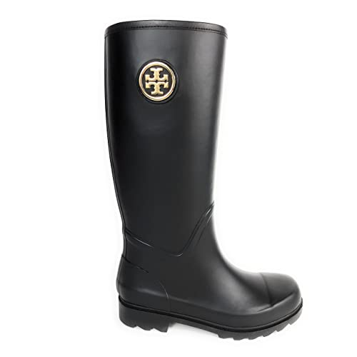 80f94e485e4d Tory Burch Sarah Rainboot Women s Shoes Boots Black 001 ...
