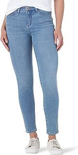 Lee Uniforms Women's Sculpting Slim Fit Skinny Leg Jean, Anchor, 0