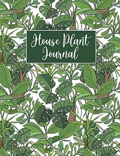 House Plant Journal: Houseplants Book / Handmade Houseplants / Practical Houseplant Book / Garden Journal Planner And Log ...