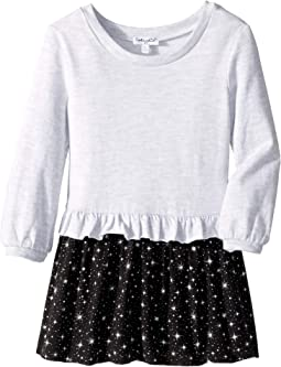 Star Print Dress (Little Kids)