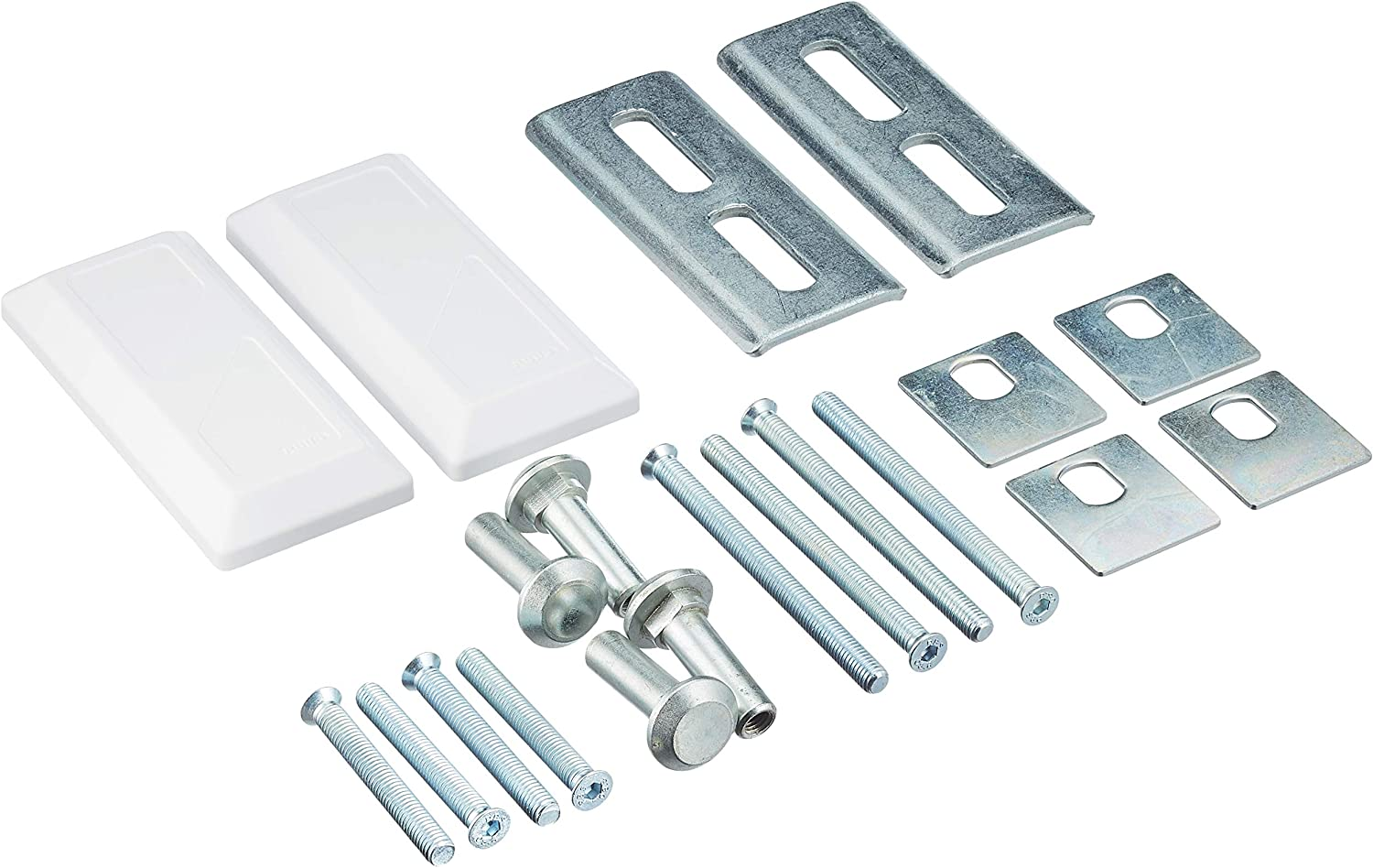 ABUS 10660 PA1018 Fixing Sale special price Set Direct sale of manufacturer for White by Locks Bolt Reinforced