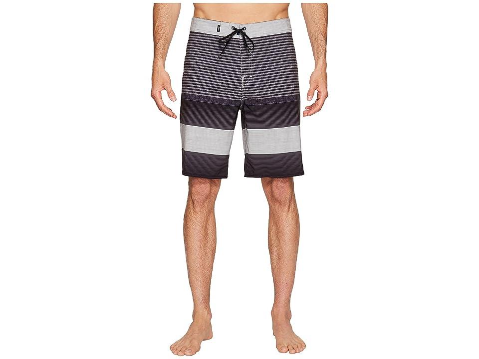 Vans Era Stretch Boardshorts 20 (Black Vertex Stripe) Men