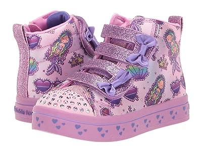 SKECHERS KIDS Twi-Lites 20223N (Toddler/Little Kid) (Pink/Multi) Girl