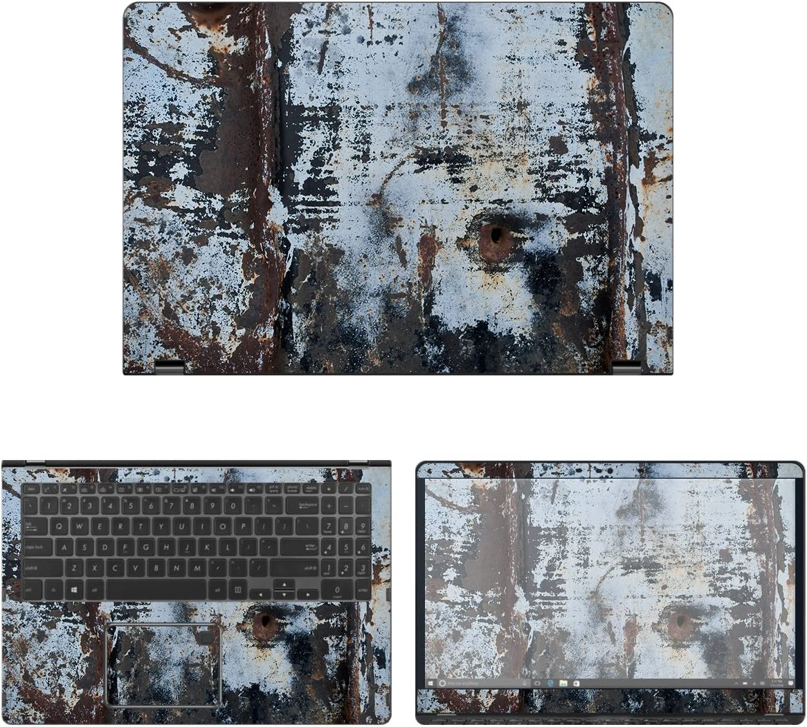 decalrus - Protective Decal Rust mart Skin Q525UA Sacramento Mall 2- Sticker Asus for