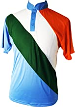 CE Indian Colored Cricket T20 Kit Shirts Jersey & Pants Trousers Indian National Colors (Shirts Jersey Small)