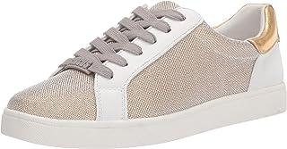 حذاء رياضي ديفين للسيدات من تصميم سام إيديلمان، شبكة ذهبية، 6.5
