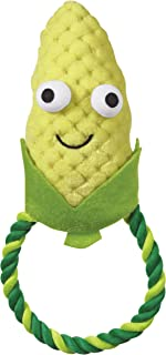 Grriggles Happy Veggies & Fruit Dog Rope Chew Tug Toy for Chewing, Tugging, Playing