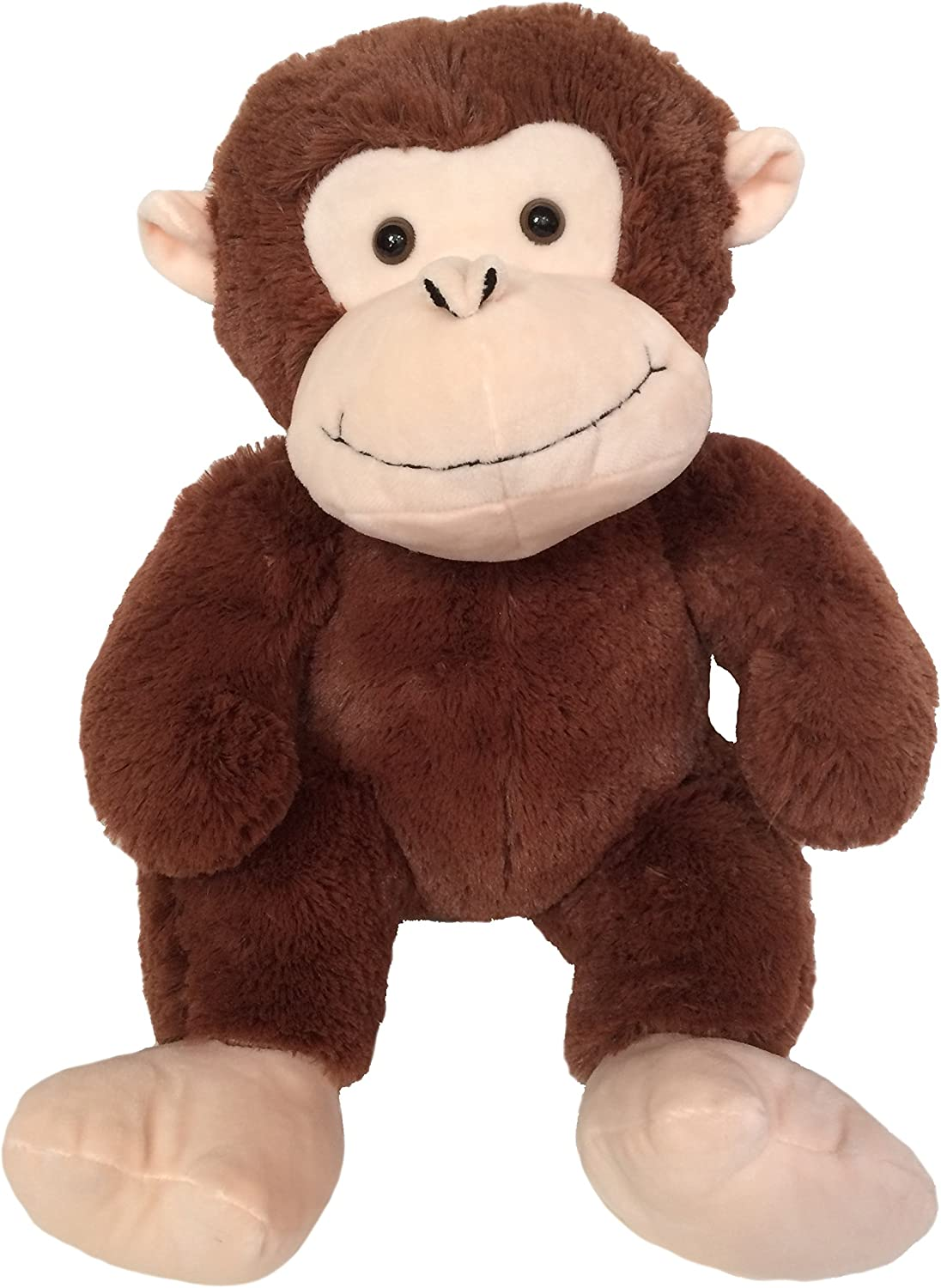 Wishpets Plush Sitting Monkey, 14 Inches, Brown by Wishpets