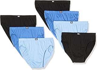 Rio Men's Underwear Cotton Bikini Brief 7 Pack