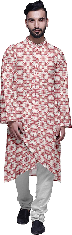 Atasi Designer store Kurta Pajama Super beauty product restock quality top for Printed Angrakha Set S Men