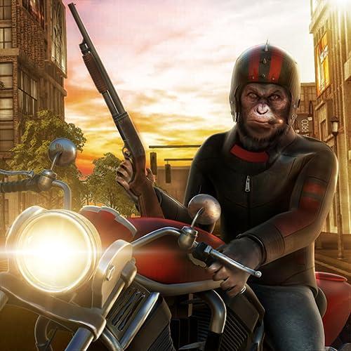 Regeln des Dschungel-Überlebens Wildes Gorilla-Stadt-Rampage-3D Spiel: Affen-Gangster-Leben in der Planeten-Stadt-Verbrechen-Abenteuer-Mission geben für Kinder 2018 frei