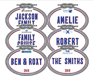 Personalized Name Tag Door Magnet | Carnival Cruise Line Magnet || Holland America Magnet | Royal Caribbean Magnet | Princess Cruise Magnets | Norwegian Cruise Line | Celebrity Cruises