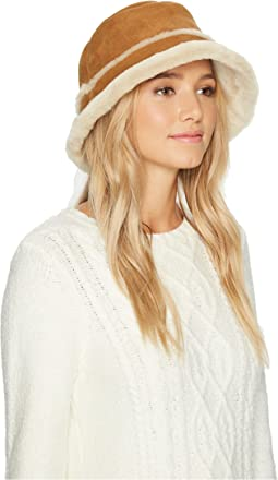 Waterproof Sheepskin Bucket Hat