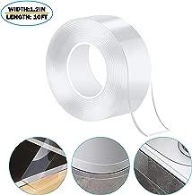 Caulk Strip PMMA Self Adhesive Waterproof Repair Tape for Bathtub Bathroom Shower Toilet Kitchen and Wall Mildew Sealing (59/50 Inch Width x 10 Feet Length,Transparent)