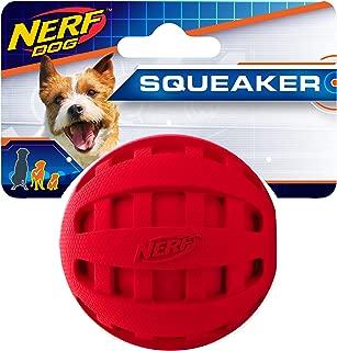 Nerf Dog Checker Squeak Ball