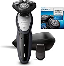 Philips Norelco Wet & Dry Shaver Bonus Set with Travel Pouch and Additional Shaving Head Included