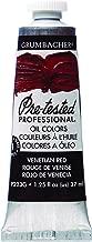 Grumbacher Pre-Tested Oil Paint, 37ml/1.25 Ounce, Venetian Red (P223G)