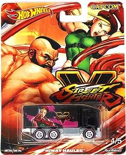 Hot Wheels Street Fighter V 4/5 Zangief vs Cammy Hiway Hauler Die-cast Vehicle