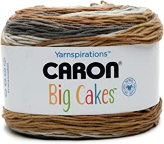 Caron Big Cakes Self Striping Yarn ~ 603 yd/551 m/10.5oz/300 g Each (Tiramisu)
