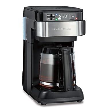 Hamilton Beach Works with Alexa Smart Coffee Maker with Echo Dot (3rd Gen)