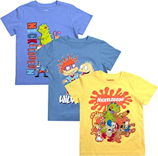 Nickelodeon Boys 3-Pack T-Shirts