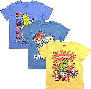 Nickelodeon Boys 3-Pack T-Shirts