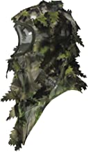 North Mountain Gear Ambush HD Camouflage Hunting Full Cover Ghillie Leafy 3D Face Mask Woodland Breathable Hunting Mask Clothing