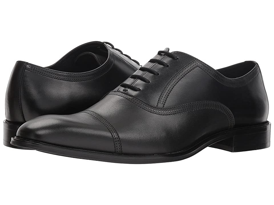 Steve Madden Mantra (Black Leather) Men