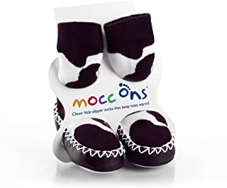 Mocc Ons Moccasin Style Slipper Sokken