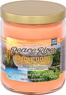 Smoke Odor Exterminator Candle 13oz jar, Peace River