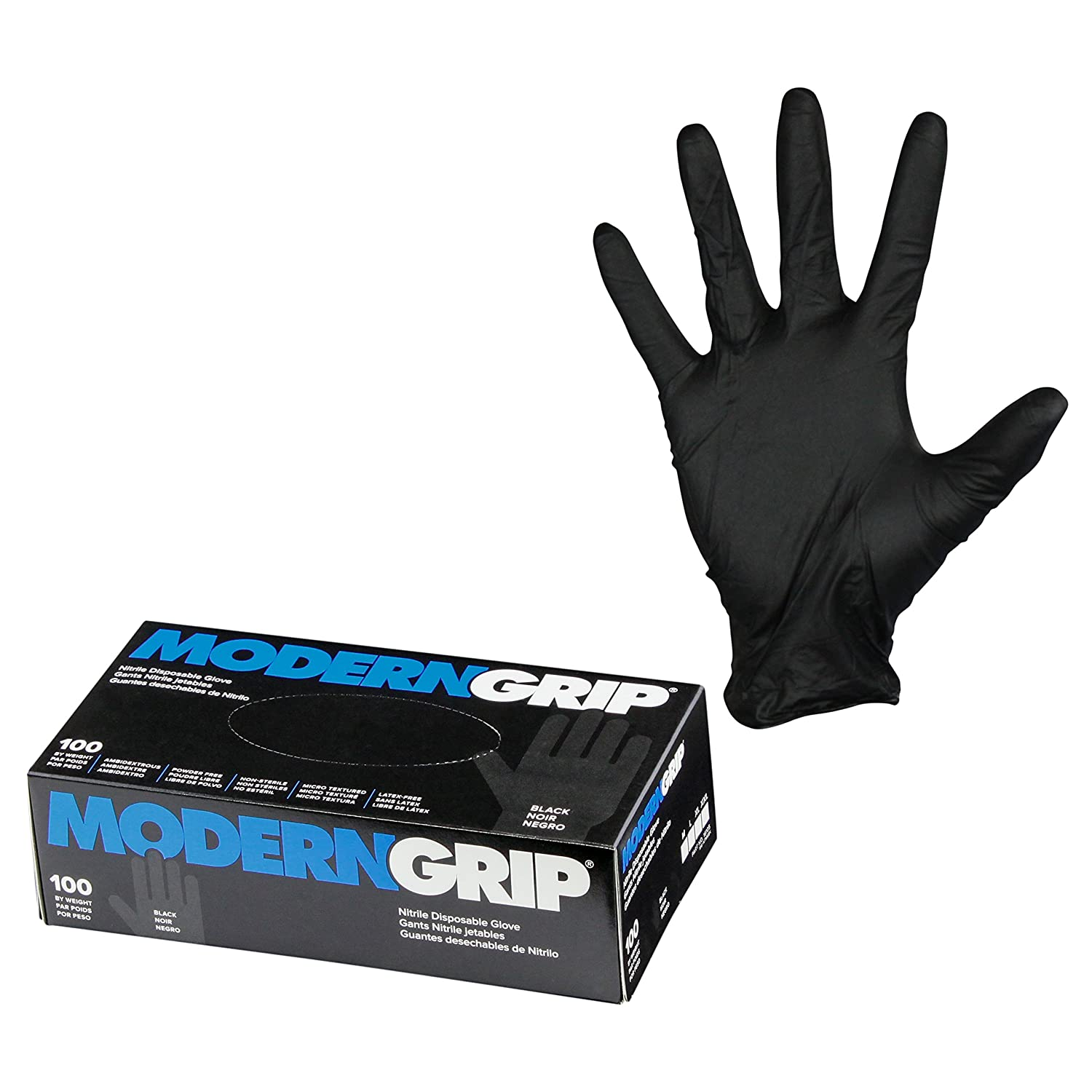 Modern Classic Grip 16105-M Nitrile 6 Disposable G mil Sale Premium Thickness