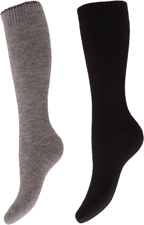 Floso- Calcetines de invierno térmicos para botas de agua para mujer (2 pares)