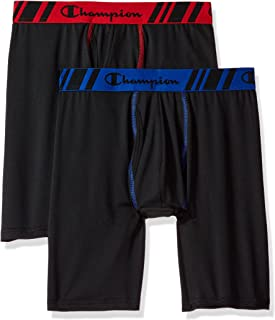 Men's Tech Performance Long Boxer Brief, Pack of 2