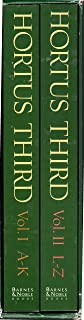 Hortus Third : A Concise Dictionary of Plants Cultivated in the United States and Canada (Two Volume Boxed Set)