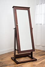 Best cheval jewelry mirror with pin board Reviews