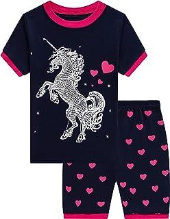 Jxstar Girls Unicorn Pajamas