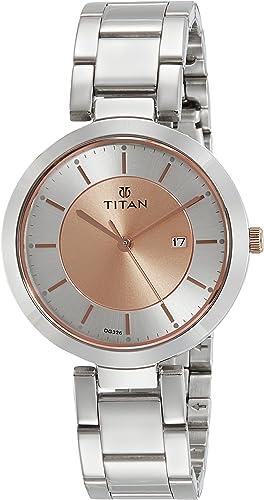 Titan Ladies NeoIi Analog Rose Gold Dial Women's Watch NM2480KM01 / NL2480KM01