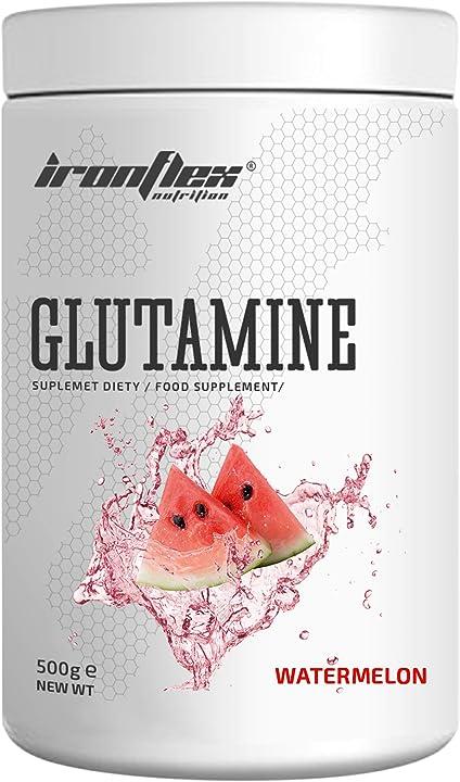 Glutammina ironflex 500 grammi gusto anguria B08WCLSPVS