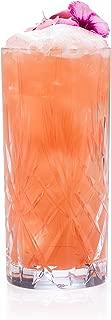RCR Melodia Crystal Hi-Ball Cocktail Water Tumblers Glasses, 12oz, Set of 6