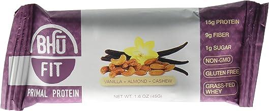 Bhu Foods Primal Grass-Fed Whey Protein Bar Vanilla Almond Cashew 12 Bars Estimated Price : £ 49,75