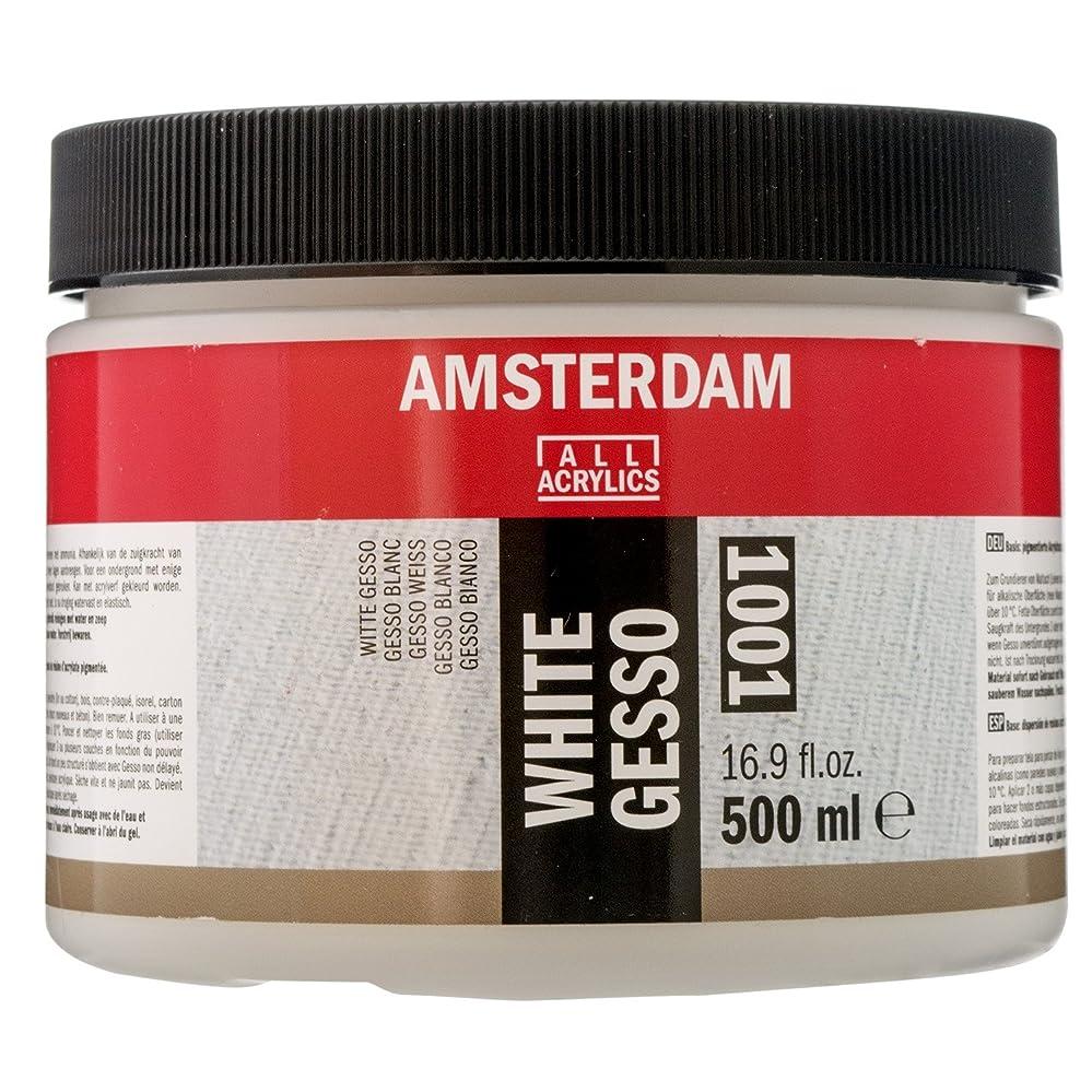 ジャンクバナープレゼントターレンス ジェッソ アムステルダム アクリリックメディウム ホワイトジェッソ T2418-3001 500ml