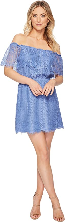 BB Dakota - Zinnia Lace Off the Shoulder Dress