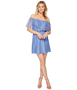 Zinnia Lace Off the Shoulder Dress