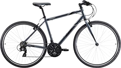 REID Men's L Transit Hybrid Commuter And Folding Bike - Grey, 130 x 40 x 20