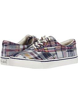 Plaid Polo Ralph Lauren Shoes + FREE